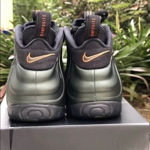 d259bbb69e26d Nike Shoes - NIKE AIR FOAMPOSITE PRO SEQUOIA BLACK ORANGE